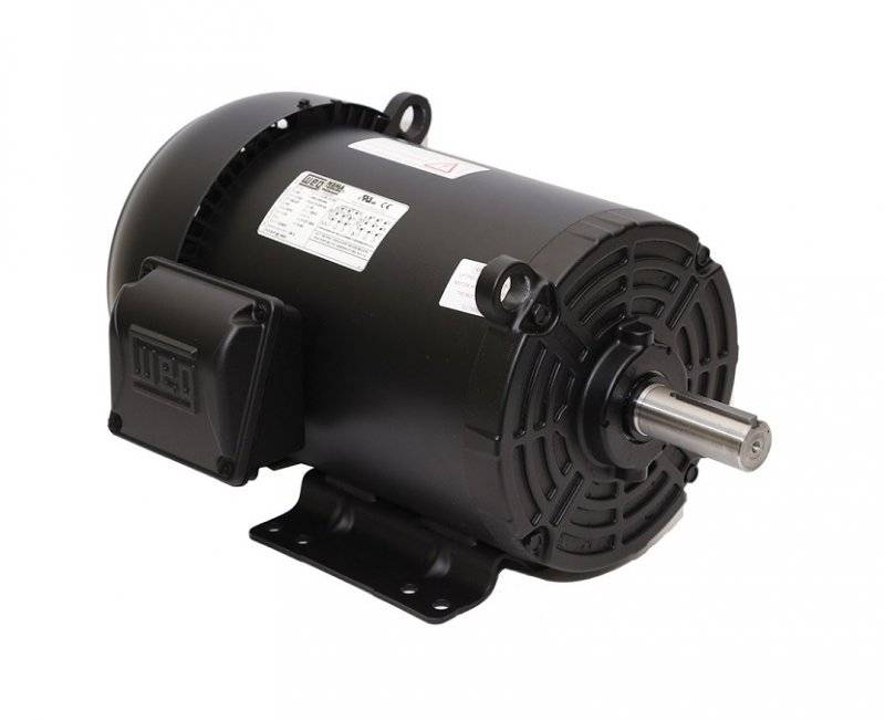 20hp weg tefc 3 phase energy efficient electric motor for 20 hp 3 phase motor