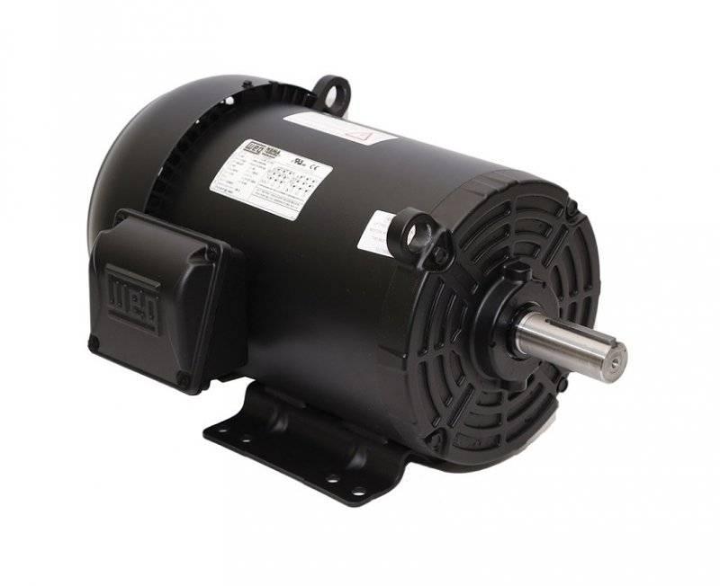 20hp weg tefc 3 phase energy efficient electric motor