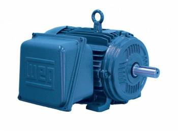 WEG - 1HP WEG TEFC 1 Phase Farm Duty High Torque Motor