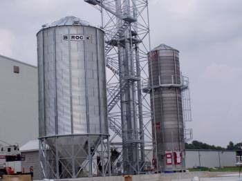 Used Meyer ME1200 Grain Dryer