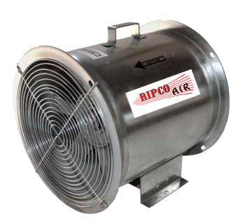 "Grain Systems Distribution - 12"" GSD Axial Fan - 3/4 HP 3PH 230/460V"