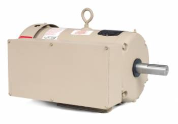 Baldor - 5HP Baldor TEFC 1 Phase Farm Duty High Torque Motor