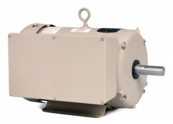 Baldor - 7 1/2HP Baldor TEFC 1 Phase Farm Duty High Torque Motor