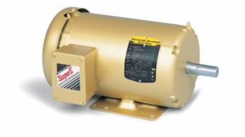 Baldor - 5HP Baldor TEFC 3 Phase Energy Efficient Electric Motor