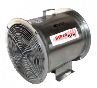 "Fans Less Controls - 12"" Diameter Vane Axial Fan Less Controls - Grain Systems Distribution - 12"" GSD Axial Fan - 3/4 HP 3PH 230/460V"