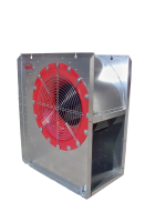"GSD Low-Speed Centrifugal Fans - GSD 27"" Diameter Low-Speed Centrifugal Fans with Controls - Grain Systems Distribution - 27"" GSD Centrifugal Fan with Control - 20 HP 230/460V"