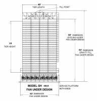 Capacity 5,000 - 6,000 (BPH) - Capacity 5,250 - 5,500 (BPH)  - Grain Handler - Grain Handler Fan Under Dryer - Model 4819