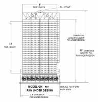 Capacity 500 - 1,000 (BPH) - Capacity 500 - 750 (BPH)  - Grain Handler - Grain Handler Fan Under Dryer - Model 810