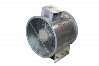 "Fans With Controls - 24"" Diameter Vane Axial Fan With Controls - Grain Systems Distribution - 24"" GSD Axial Fan with Control - 5 HP 3PH 230/460V"